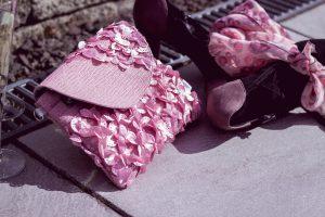 Clutch in rosé Image